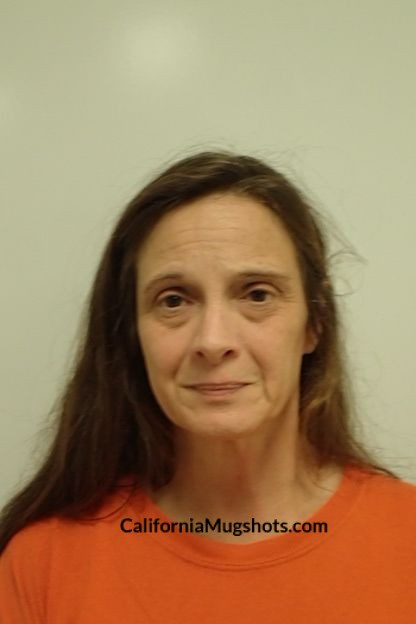 Violet Michelle Mcalister arrested in Lake County,CA