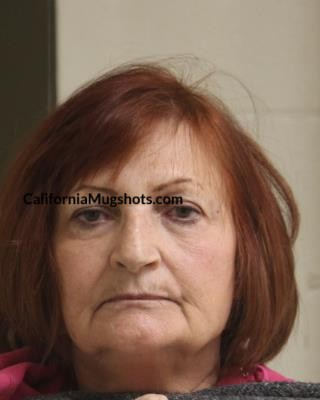 Sharon G. Stauffer arrested in Tehama County,CA