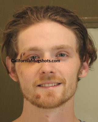 Jacob D. Johnson arrested in Tehama County,CA